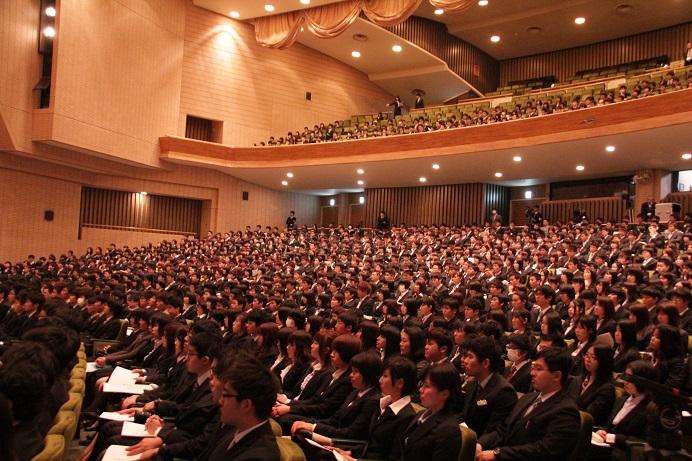 筑波大学 入学式