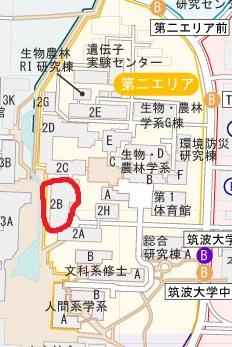 ニ学食堂 マップ