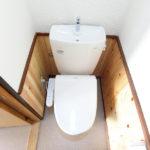 ウォームレット付きトイレ