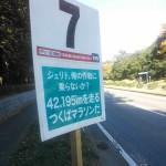 7km:ジェリド、俺の作戦に乗らないか?42.195kmを走るつくばマラソンだ。