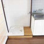 洗濯機置場 (つくば市 賃貸アパート 筑波大学至近)