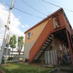 【礼金0円】南向き1DKの春日3アパート 家賃3万円 洗濯機中置き【バス・トイレ別】