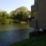 日向と日陰と前松美池