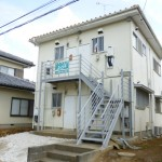 【賃料1.9万円】柴崎1Kアパート♪バストイレ別!【角部屋】