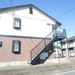 桜1丁目 アパート インターネット無料付きアパートです。